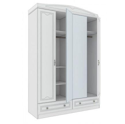 Шкаф №10 Мальвина-люкс 1