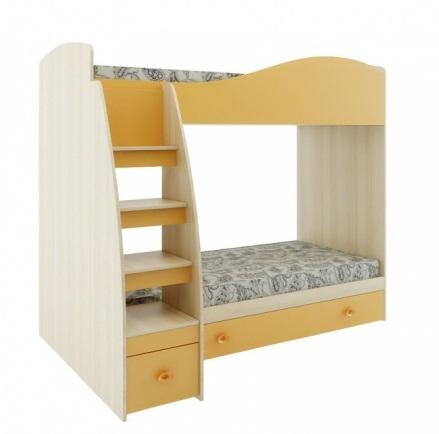 Кровать 2-х ярусная с настилом Калинка 1