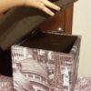 Пуфик высокий с ящиком 5