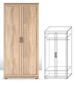 Шкаф для одежды (5) Вега Прованс 1