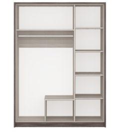 Шкаф 3-х дв. с зеркалом Николь 2