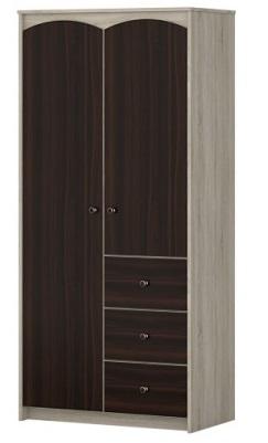 Шкаф 2-х дверный с ящ. Ева 1