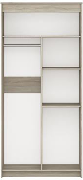 Шкаф 2-х дверный с ящ. Ева 2