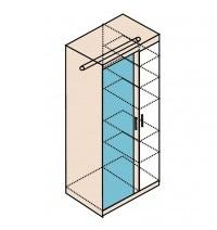 Мод. Н11 Шкаф для одежды Ника 1