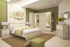 Модульная спальня Ника-1 1