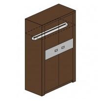 Мод. М1с Шкаф для одежды Модена 1