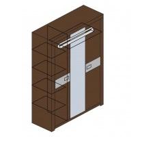 Мод. М8 Шкаф для одежды Модена 1