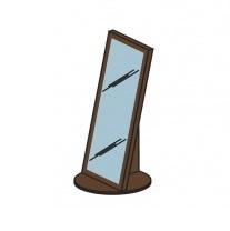 Мод. М17 Зеркало напольное Модена 1