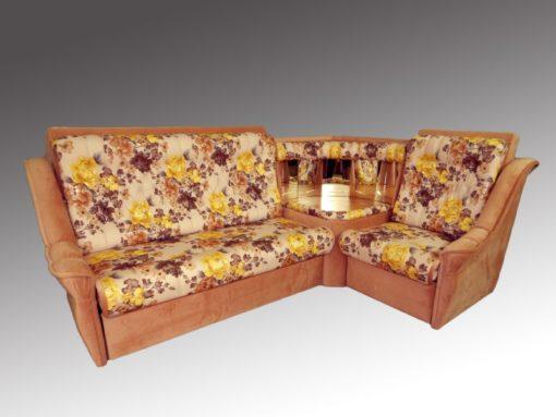 Угловой диван Престиж-1 (поролон) 6