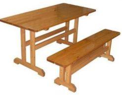 Скамья деревянная М111.9 1