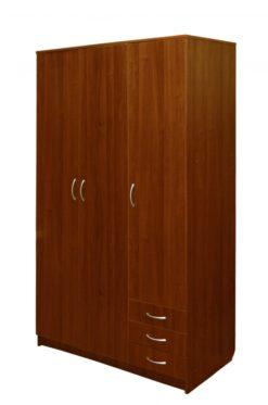 Шкаф 3-дверный (для белья) 1
