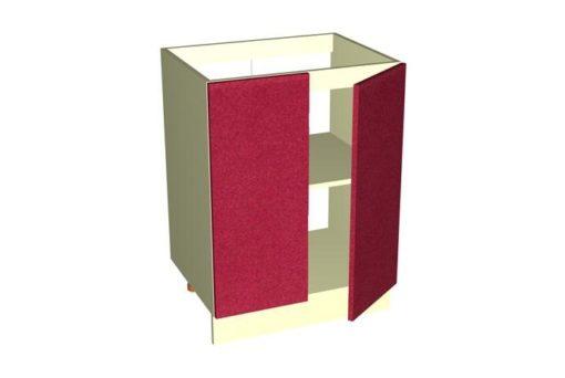 Рабочий стол РСМ-60-2Д Шанталь-2 Рубин металлик 1