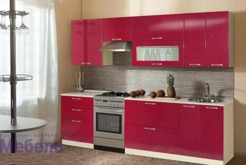 "Кухня ""Шанталь-2"" №2 Рубин 1"