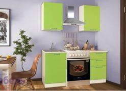 """Кухня """"Шанталь-1"""" №1  Зеленый 1"""