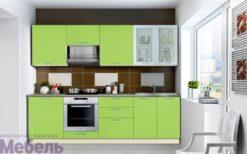 """Кухня """"Шанталь-1"""" №2  Зеленый 1"""