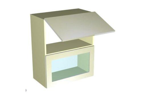 Шкаф-антресоль ШАВ-60-2Д Шанталь-2 Жемчуг Глянец 1