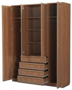 Шкаф для платья и белья 110 2