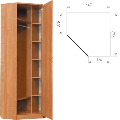Угловой шкаф 402 2