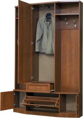 Шкаф для прихожей с зеркалом 600 2