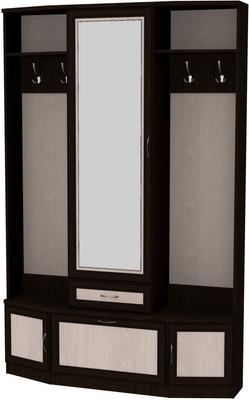 Шкаф для прихожей с зеркалом 600 3
