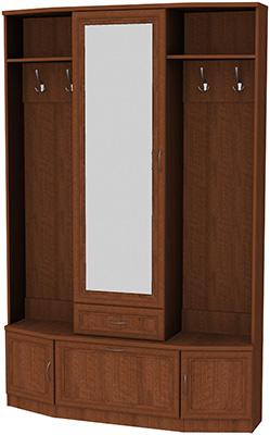 Шкаф для прихожей с зеркалом 600 4