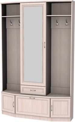 Шкаф для прихожей с зеркалом 600 5