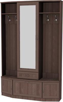 Шкаф для прихожей с зеркалом 600 6