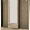 Шкаф для прихожей с зеркалом 600 7