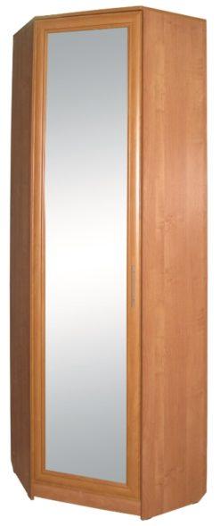 Шкаф с зеркалом Муромец-2 вишня 1