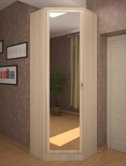 Шкаф с зеркалом Муромец-2 вишня 2
