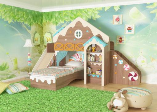 Модульная детская Пряничный домик №1 1