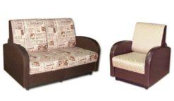 "Комплект ""Стандарт"" диван 120 + кресло 60 1"