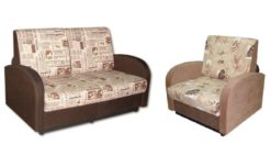 "Комплект ""Стандарт"" диван 120 + кресло 70 1"