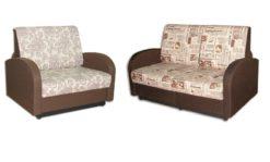 "Комплект ""Стандарт"" диван 120 + кресло 85 1"