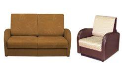 "Комплект ""Стандарт"" диван 140 + кресло 60 1"