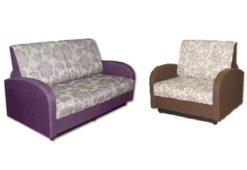 "Комплект ""Стандарт"" диван 140 + кресло 85 1"
