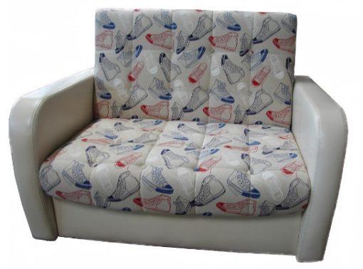 """Диван-кровать """"Оригинал"""" 100см (мягкие подлокотники 1"""