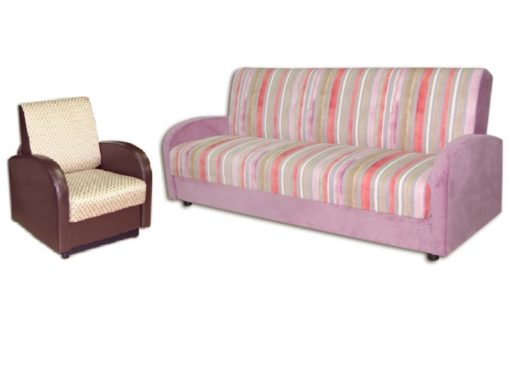 "Комплект Стандарт книжка""диван + кресло 60см 1"