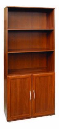 Шкаф для книг без стекла МД2.02 1