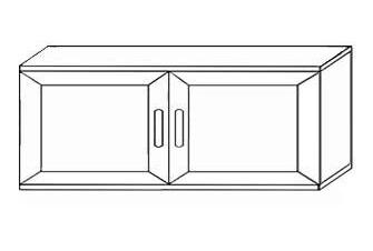 Антресоль для шкафа на 800 1