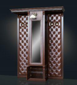 Шкаф для одежды с зеркалом и бра Б5.13 2
