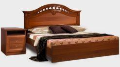Кровать Европа-7 с одной спинкой и орт.основанием 1