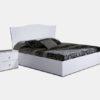 Кровать Европа-9 с подъемным механизмом (белый) 1