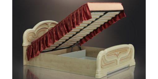 Кровать Европа-11 (без изножья) с подъемным механизмом 1
