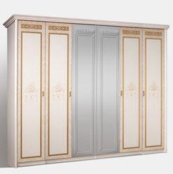 Шкаф 6-ти ств. Карина-3 (бежевый) без зеркал 1
