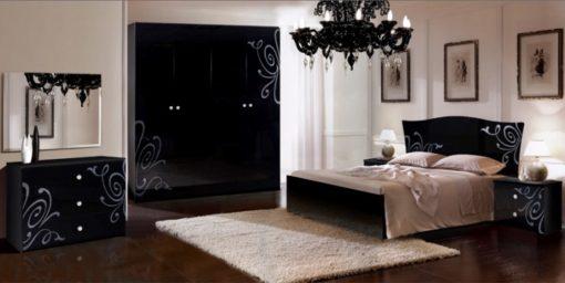 Спальня Европа-9 (черный) 1