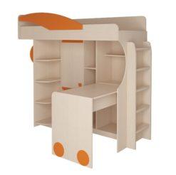 Набор мебели 4.4.1 (оранжевый) + Лестница №2 2