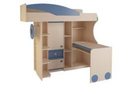 Набор мебели 4.4.1 (синий) 2