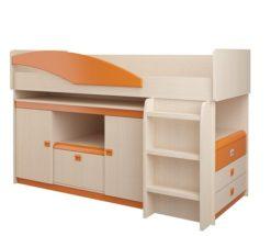 Детская № 4.1.2 (оранжевый) + Лестница №3 2