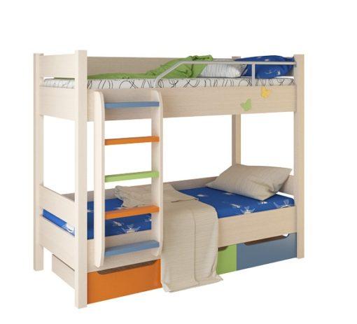 Кровать двухъярусная №3 (б/матраца) 1